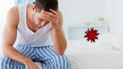 Цитомегаловирус у мужчины