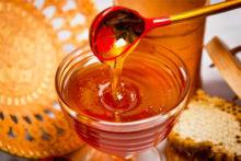 Тарелка мёда