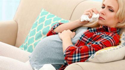 Герпес на губах у беременной