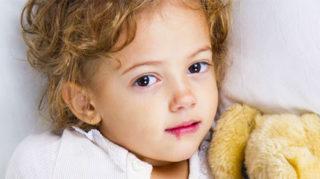 Герпес на губе у годовалого ребенка