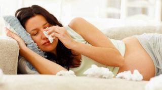 Герпес при беременности на губах лечение