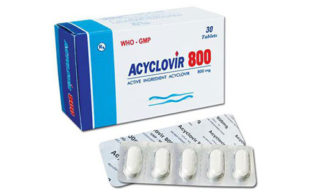 Ацикловир 800 мг