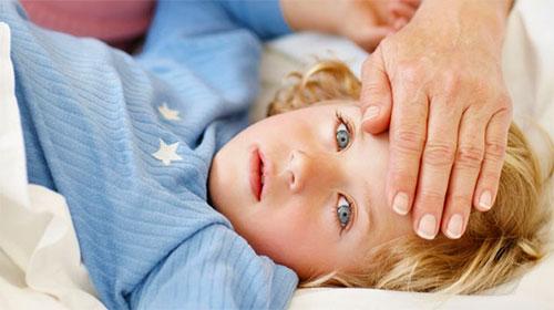 Температура у ребёнка после ветрянки